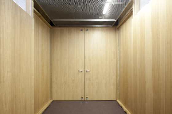 Free wall cladding by Lindner Group | Panelling systems