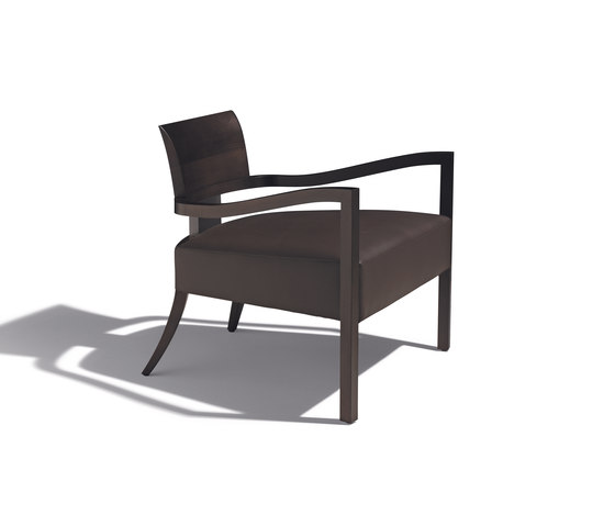 marlene armchair by Schönhuber Franchi | Lounge chairs