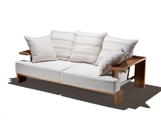 bali collection sofa by Schönhuber Franchi | Garden sofas