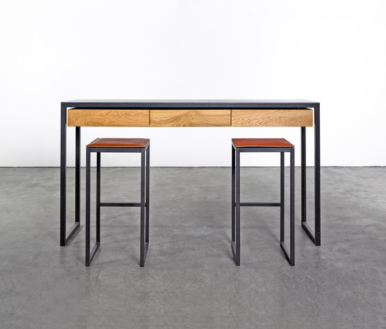 Stool on_03 by Silvio Rohrmoser | Counter stools