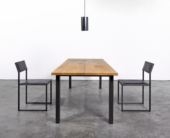 Table and Bench at_10 by Silvio Rohrmoser | Upholstered benches