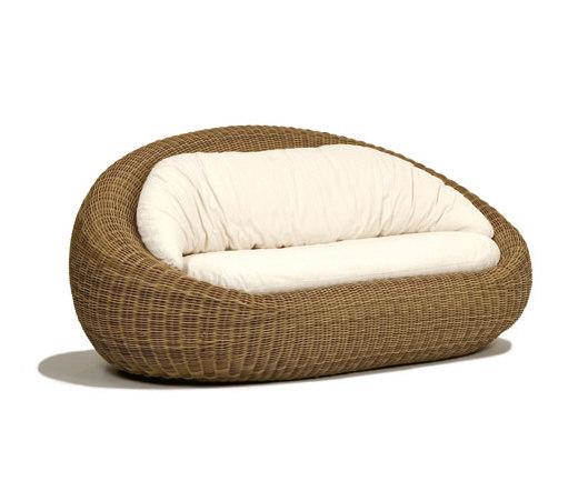 ellisse sofa von Schönhuber Franchi | Gartensofas