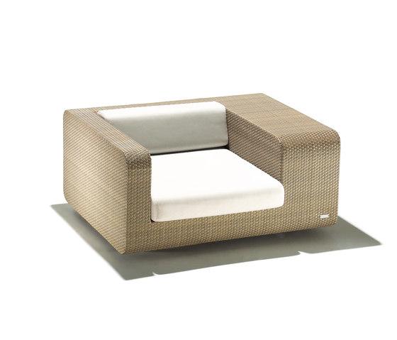 hug tub armchair by Schönhuber Franchi | Garden armchairs