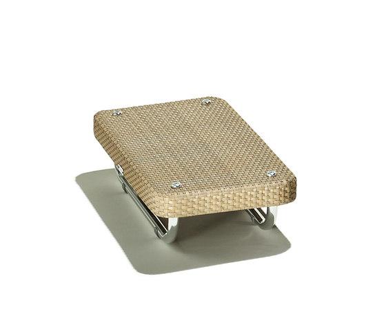 hug tavolino di Schönhuber Franchi | Tavoli bassi da giardino