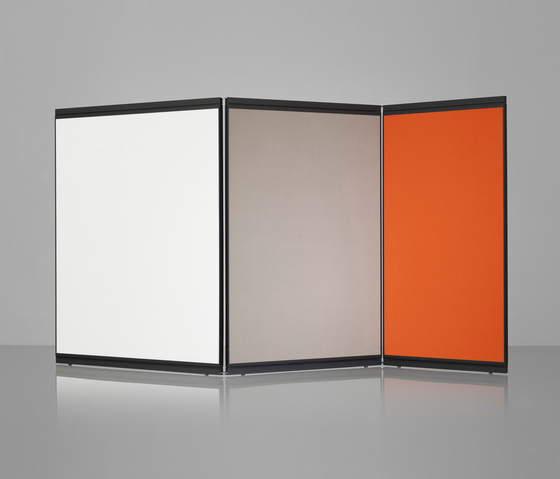 M2 Floor Screen by Lintex | White boards