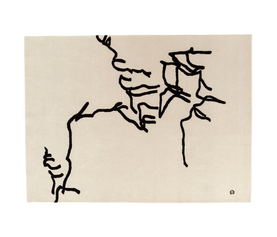 Chillida Dibujo Tinta 1957 by Nanimarquina | Rugs / Designer rugs