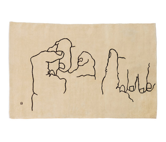 Chillida Manos 1995 by Nanimarquina | Rugs / Designer rugs