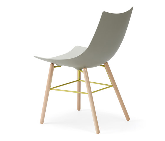 Luc chair wood de Rossin | Sillas de visita