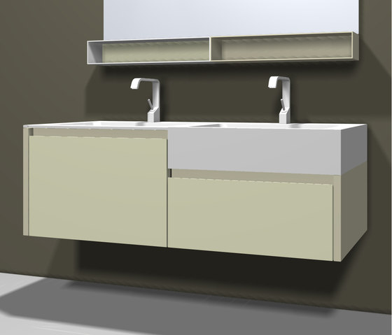 Tender by Mastella Design | Vanity units