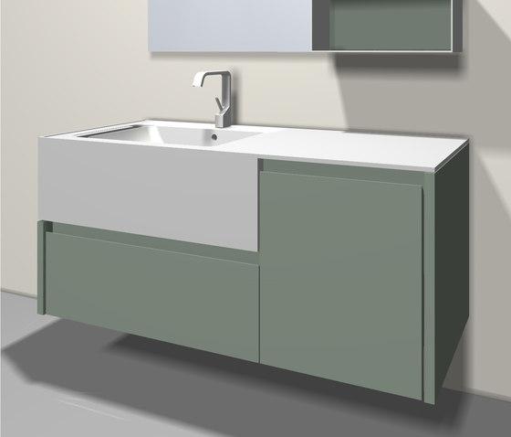 Tender de Mastella Design | Meubles sous-lavabo