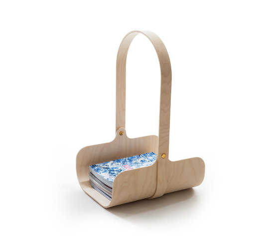 Triumf basket by Klong | Magazine holders / racks