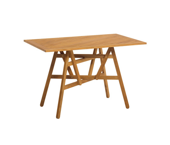 Nods Folding Table rectangular by Atelier Pfister | Dining tables