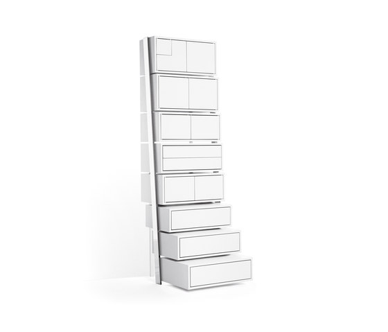 Stair Case by Opinion Ciatti | Shelves