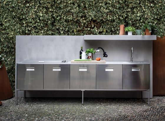 Artusi Outdoor by Arclinea | Outdoor kitchens