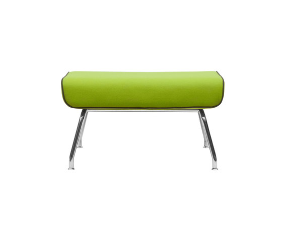 Milo footstool by Softline A/S | Poufs