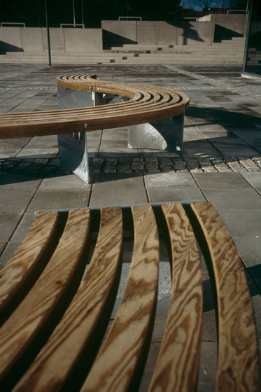 Via bench by Vestre | Exterior benches