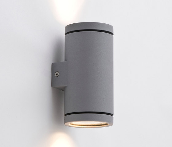 Tube up/down grey by Wever & Ducré | Outdoor wall lights