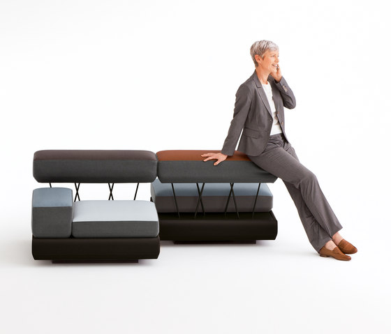 plot by Brunner | Modular seating elements