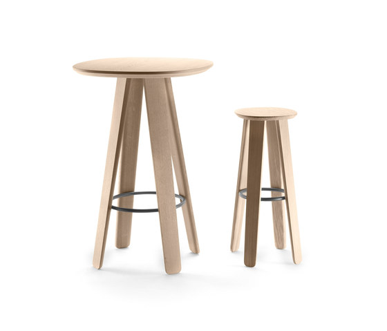 Triku Hight Stool de Alki | Sillas para restaurantes