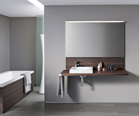 Delos Console with back panel by DURAVIT | Vanity units