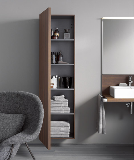 Delos Cabinet tall by DURAVIT | Wall cabinets