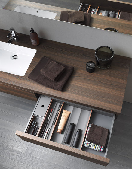 Delos Console including drawer by DURAVIT | Vanity units