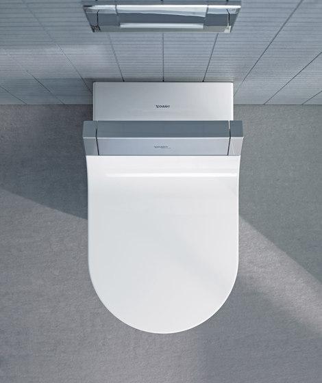 Starck C Toilet wall mounted de DURAVIT | Inodoros autolimpiantes