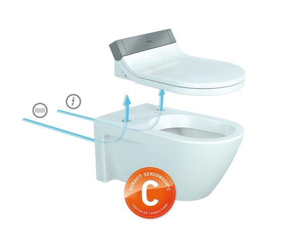 Starck C Cuvette suspendue de DURAVIT | WC douches
