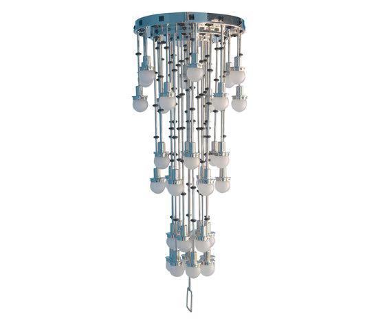 Steinhof-36fl Chandelier by Woka | General lighting