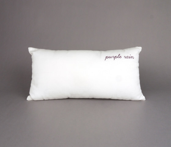 Sing a song cushion purple rain by Chiccham | Cushions