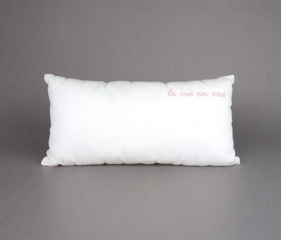 Sing a song cushion La Vie en Rose by Chiccham | Cushions