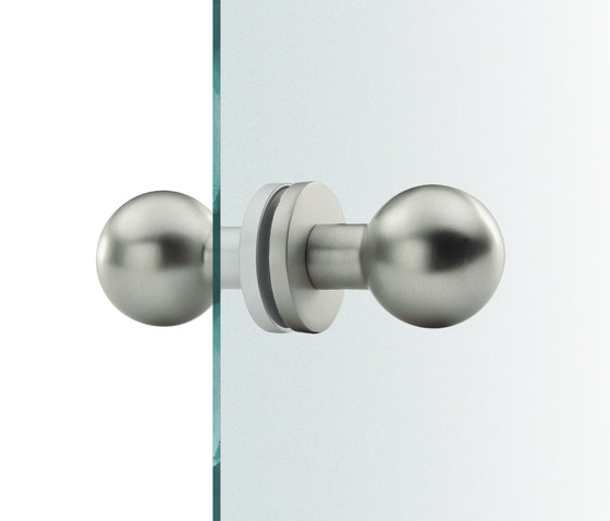 FSB 23 0802 Glass doorknobs by FSB | Knob handles for glass doors
