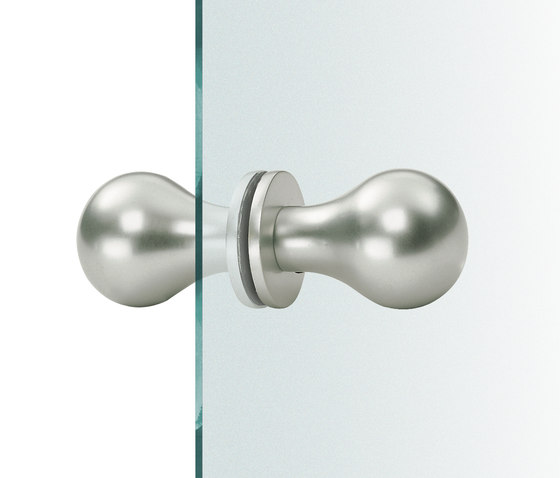 FSB 23 0844 Glass doorknobs by FSB | Knob handles for glass doors