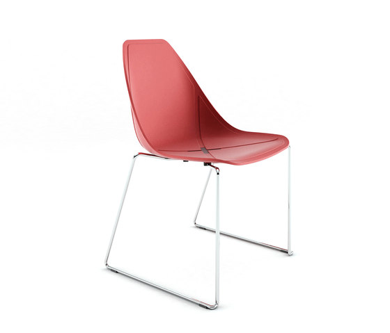 X Chair by ALMA Design | Multipurpose chairs