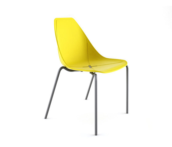 X Chair de ALMA Design | Sillas multiusos
