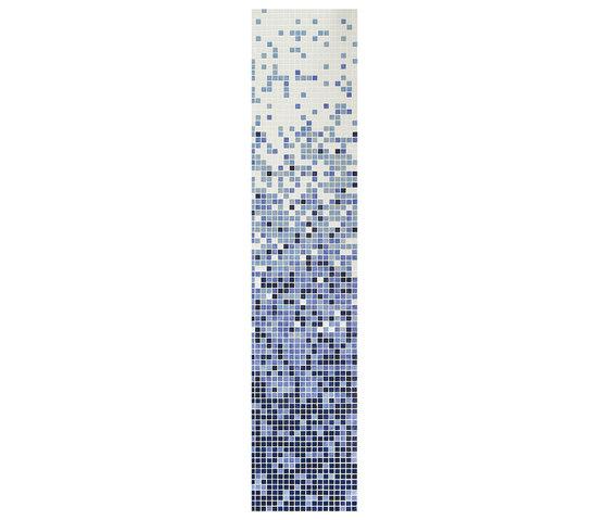 Fading Outs Azul by Ezarri | Glass mosaics