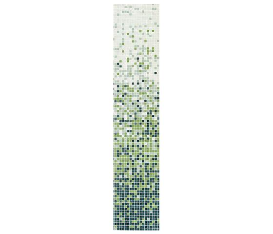 Fading Outs Verde by Ezarri | Glass mosaics