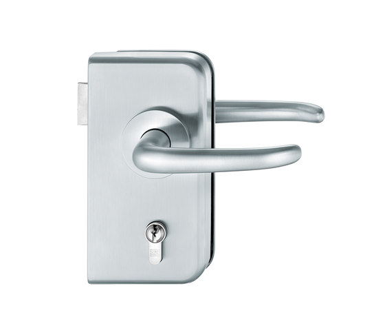FSB 1023 Glass fitting by FSB   Handle sets for glass doors