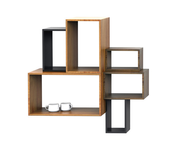 Box wall mounting by Mater | Shelving systems