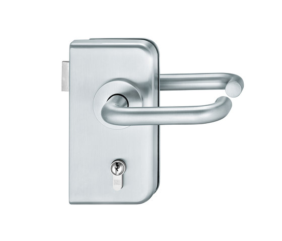 FSB 1070 Glass fitting by FSB | Handle sets for glass doors