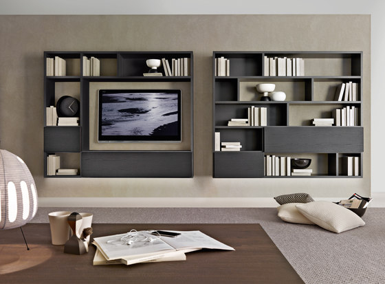 Fortepiano 505 by Molteni & C | Wall storage systems