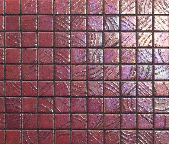Vulcano Mauna Loa de Ezarri | Mosaicos de vidrio