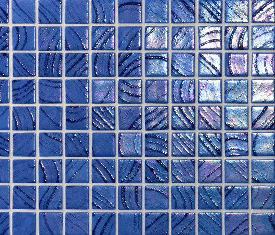 Vulcano Santorini von Ezarri | Glas Mosaike