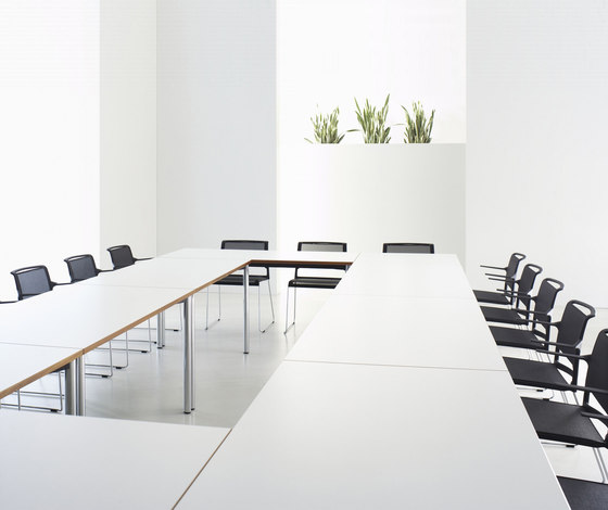 Z Series Conference table system by ophelis | Conference tables