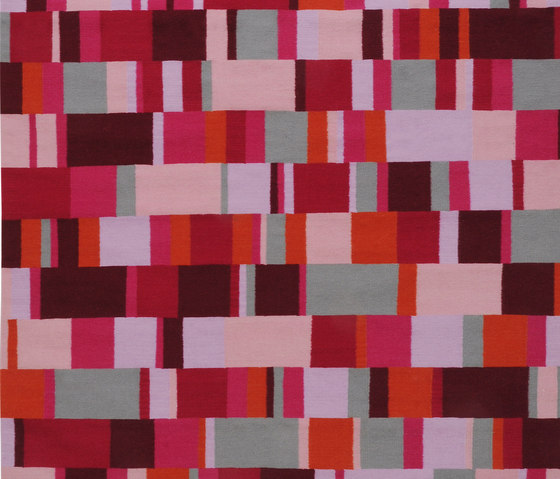 Tempo Sette Red by I + I | Rugs / Designer rugs
