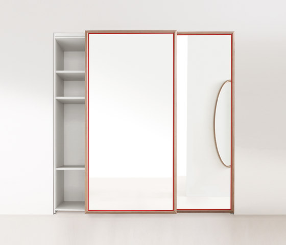 Grado 45° sliding door by Molteni & C | Cabinets