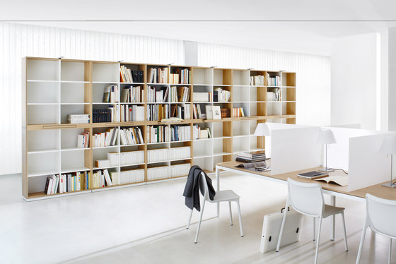 Shelving system facett by ophelis | Shelving systems