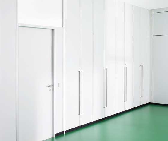 Dividing cabinet aluminium by ophelis | Shelving systems