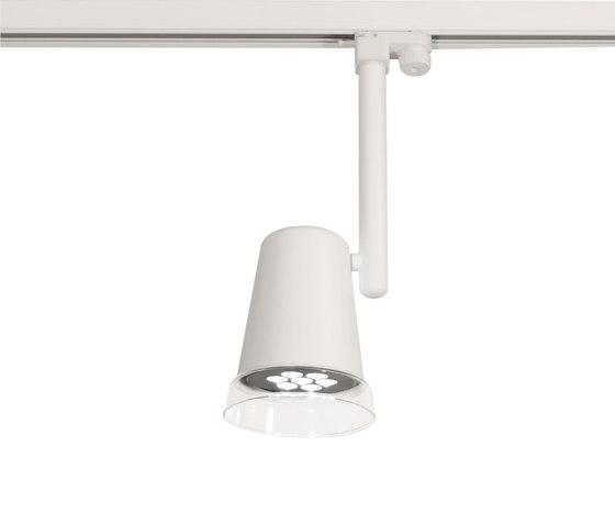 Monocle Track LED de Luz Difusión | Focos reflectores