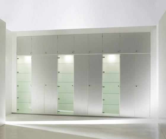 Dividing cabinet as one-piece by ophelis | Shelving systems